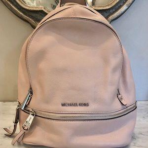 Michael Kors Rhea Leather Backpack